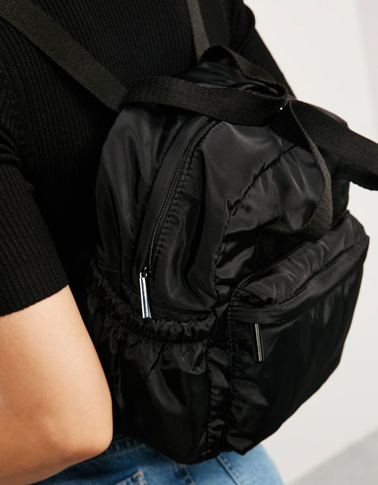 Minimochila BSK nylon - Mujer - Bershka España 18e