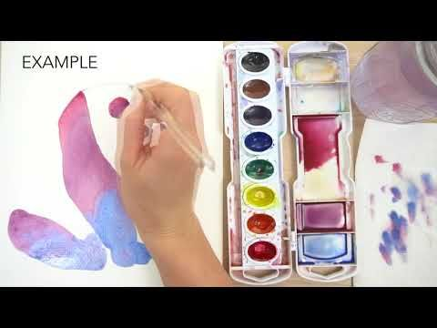 How To Paint With Watercolor 101 Watercolor Beginner