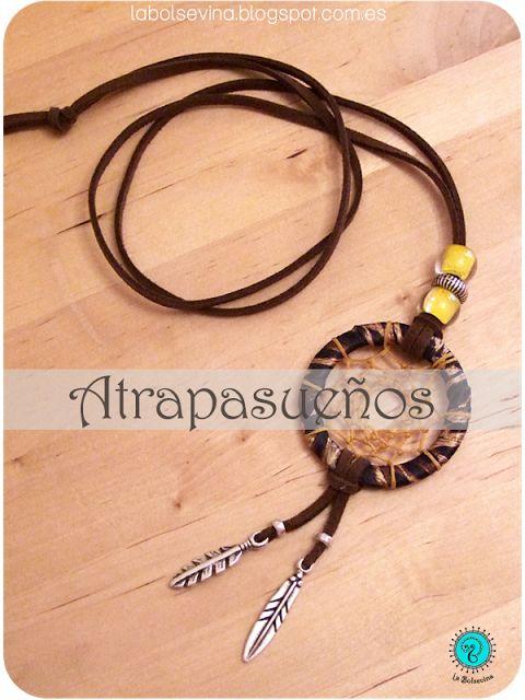 Collar atrapasueños, Dreamcatcher necklace