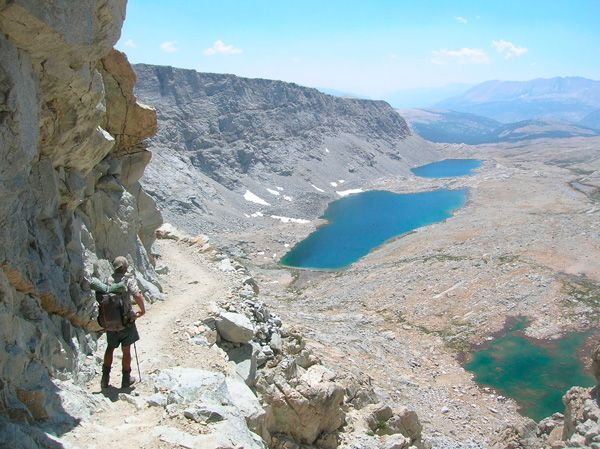 Pacific Crest Trail out west! 2,500 miles of hiking through California, Oregon, and Washington. Would love to experience this!