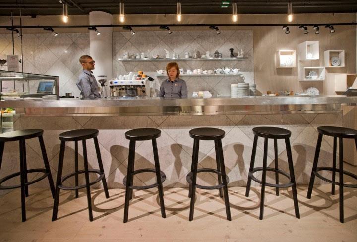 New Royal Copenhagen café at Mood, Stockholm
