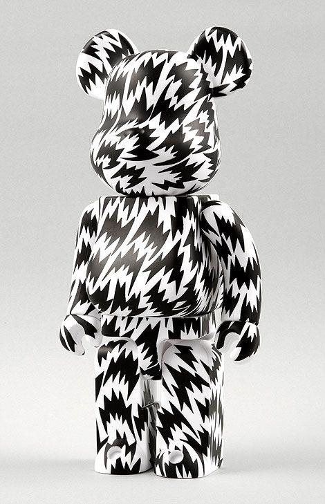 Black Bearbrick - 2008 and soon my own design of bearbrick....