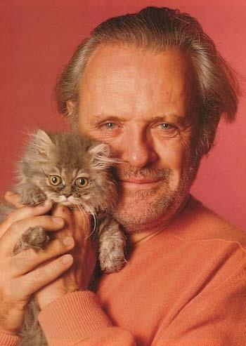Sir Anthony Hopkins - vegetarian, animal rights fighter
