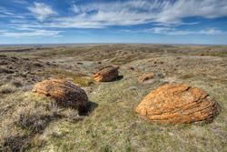 Red Rock Coulee near Medicine Hat Alberta