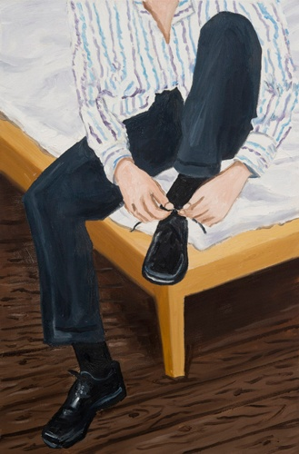 Bosman Shoelace, 2012  Oil on Canvas  36 x 24 inches