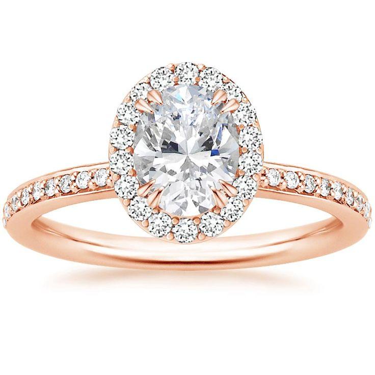 Adore Diamond Ring with Oval Diamond
