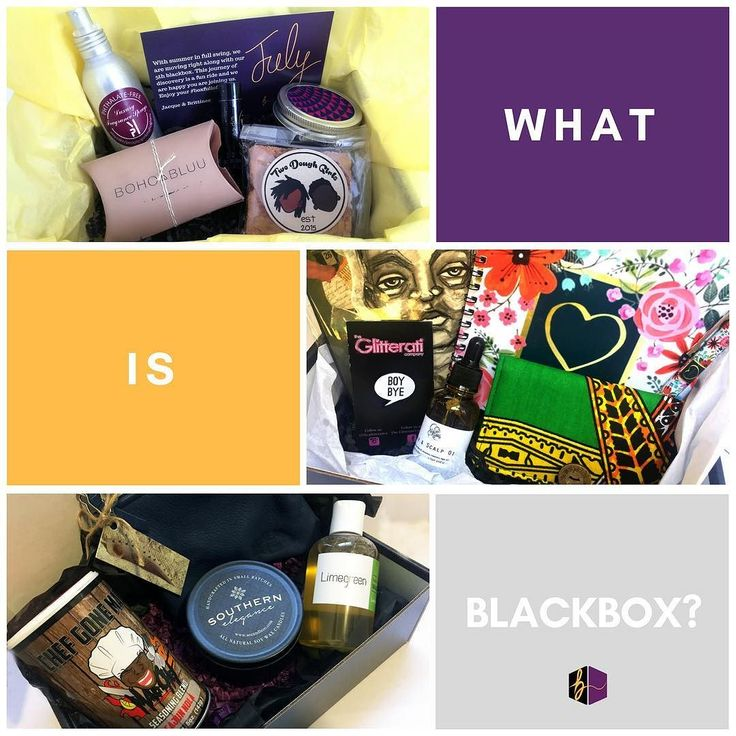 What is blackbox? We're a monthly subscription box curated of products made by Black businesses - delivered to your door for discovery. Simply put a subscription box full of hue.  It's sometimes hard to find Black businesses you want to spend your $$$ with. We get it you like what you like. But what if you could change your taste and style ever so often?  Our mission is to bring great finds to you without you doing the leg work and each month's box is always a surprise and never includes the…