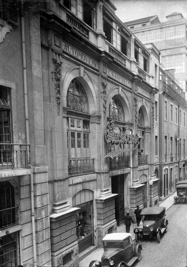 Rua do Crucifixo, anos 40