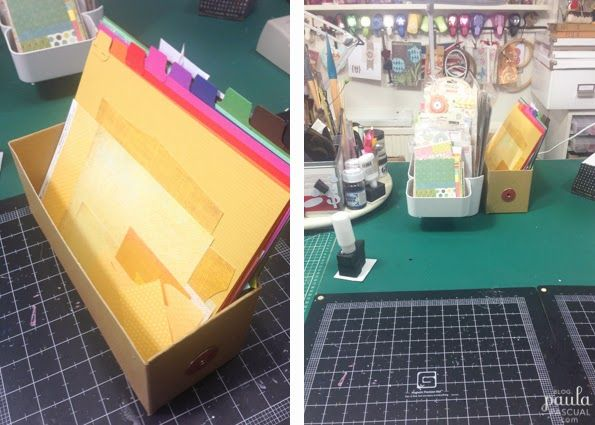 25 Unique Scrap Paper Storage Ideas On Pinterest