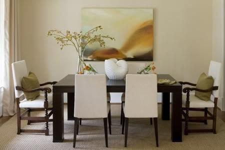 un comedor rectangular, según el feng shui, establece jerarquías, ya que tiene dos cabeceras, el comensal que queda mas lejos de la puerta es el de mayor poder y el miembro mas influyente de la familia..