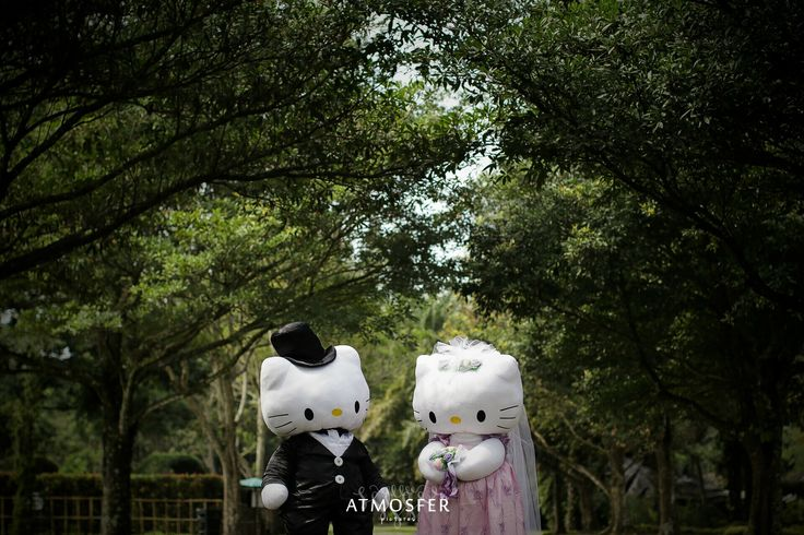 "PREWEDDING ""DANIEL + KITTY"" #hellokitty #deardaniel #hellokittywedding"