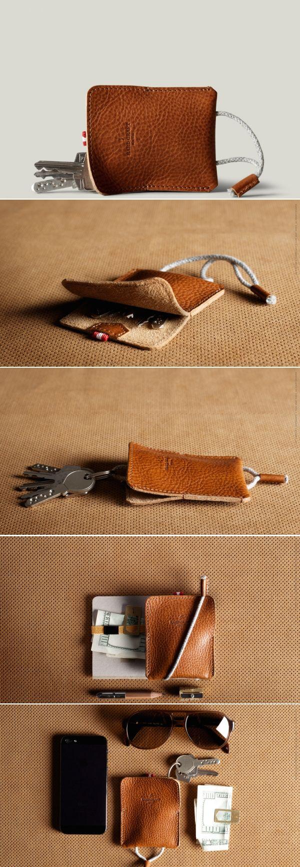 #hardgraft Turn Key Pouch