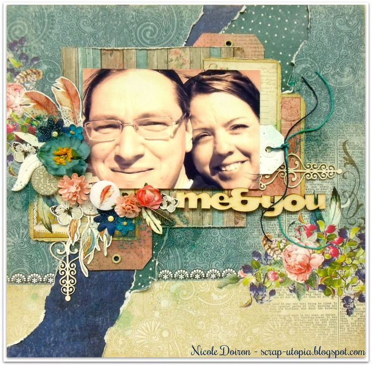 Layout created with first and foremost the ScrapBerry's Primavera collection and lots more ScrapBerry's products. View details at http://scrap-utopia.blogspot.ca/2017/03/me-you-scrapberrys-dt-reveal.html #scraputopia #scrapbooking #scrapberrys
