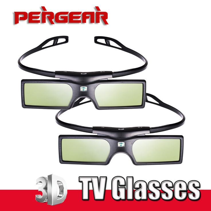 2* New Bluetooth 3D Shutter Active Glasses for Samsung Panasonic for Sony 3D TV