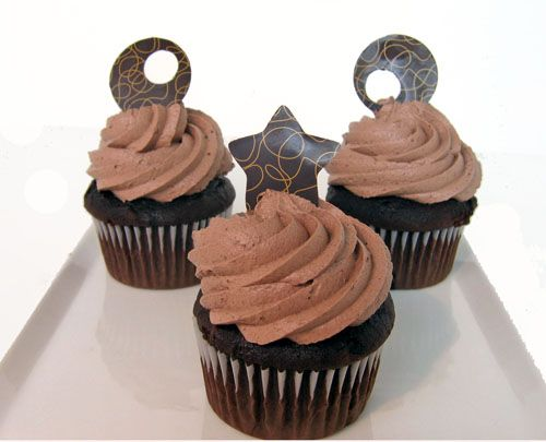 How to Use Chocolate Transfer Sheets: An Easy Photo Guide: Decorate Cupcakes With Chocolate