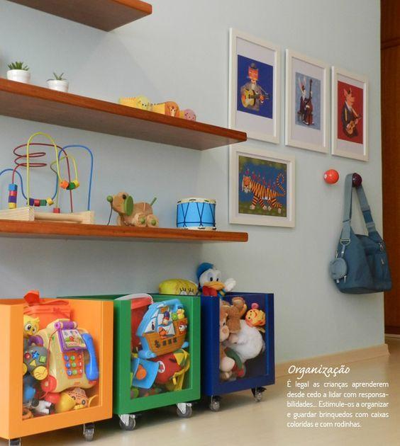 Dicas Para Organizar Os Brinquedos No Quarto Dos Filhos