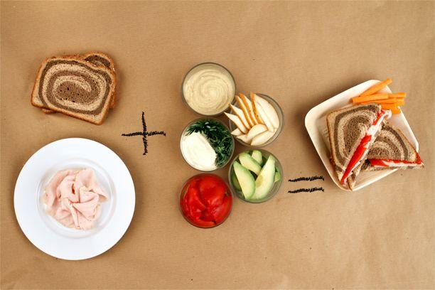 25 sandwich makeovers Turkey sandwiches