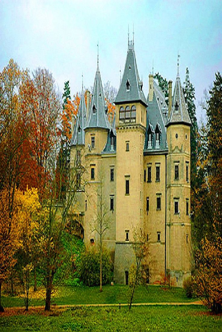 Medieval Castle in Goluchow, Poland