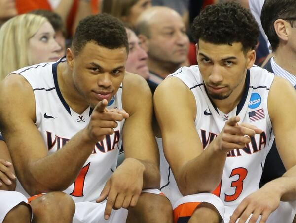 Justin Anderson and Anthony Gill of UVA basketball. :D