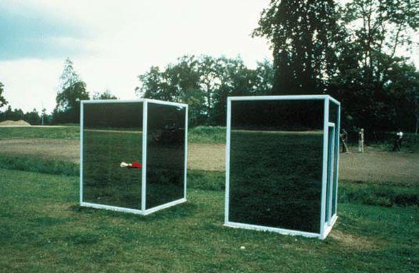 Dan Graham, Two Adjacent Pavilions, 2002