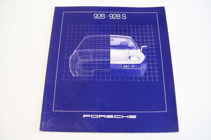 1981 Porsche 928 928S Sales Brochure by okanaganvintage on Etsy