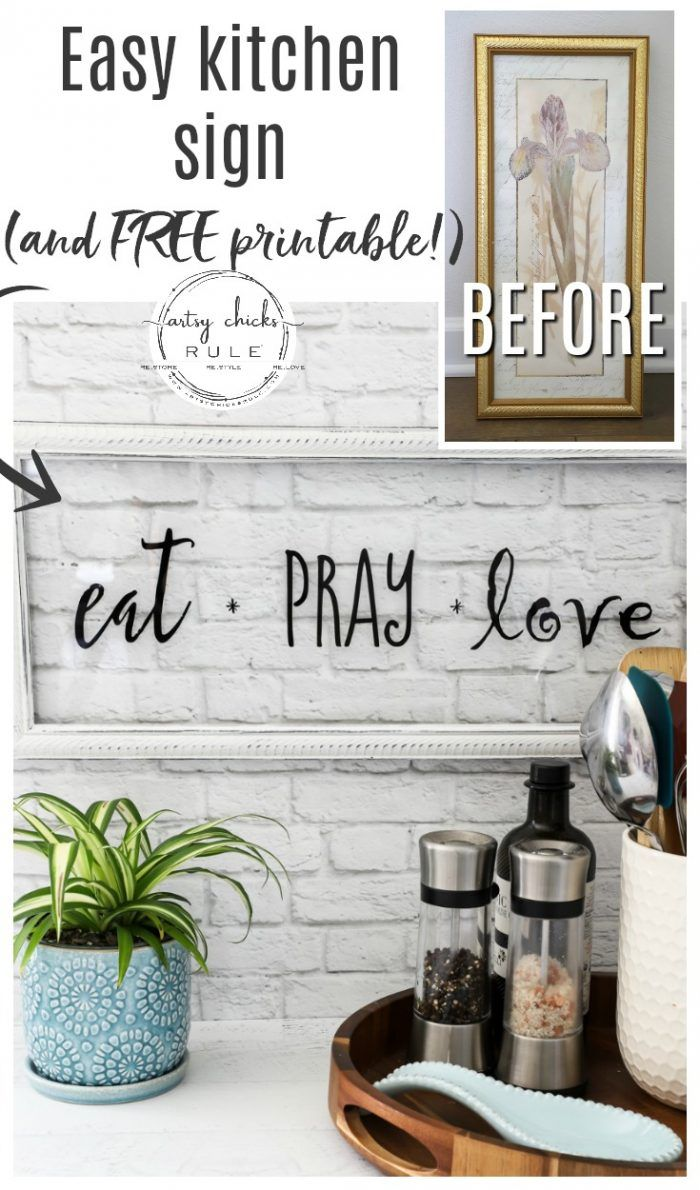Eat Pray Love Sign And Free Printable Eat Pray Love Eat Pray Love Signs