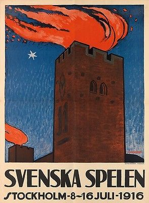 Torsten Schonberg, Svenska Spelen (Swedish Games) 1916.  The Swedish Games were held twice - in 1916 and 1922. The idea was conceived when the 1916 Olympic Games were cancelled due to the ongoing conflict of the First World War.