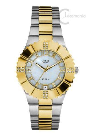 Va prezentam ceasul de dama Guess W10220L1 la 50% reducere! Pret vechi:896 Lei Pret redus:448 Lei  Link catre produs: http://ceasmania.ro/ceasuri-guess/guess-guw10220l1.html