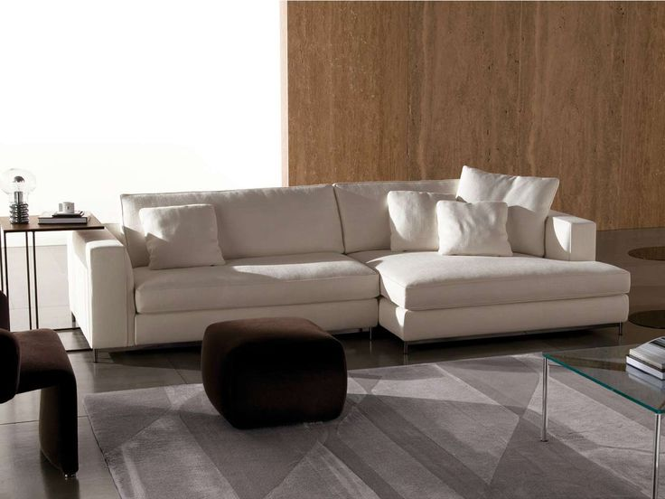 White Minotti Sectional Collection Design ~ http://www.lookmyhomes.com/amazing-theme-of-minotti-sectional-collection/