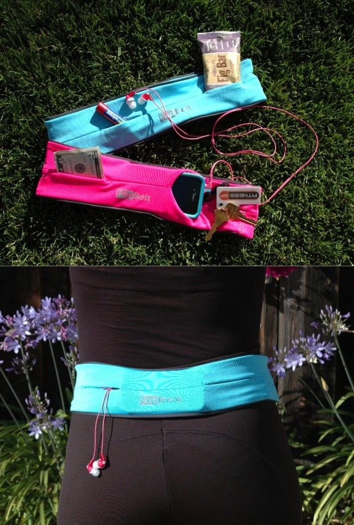 Problem Solved!  Holds your phone, cards, keys, and more while you workout, go running, or do yoga!  So much nicer than the fanny pack I sometimes use, haha!