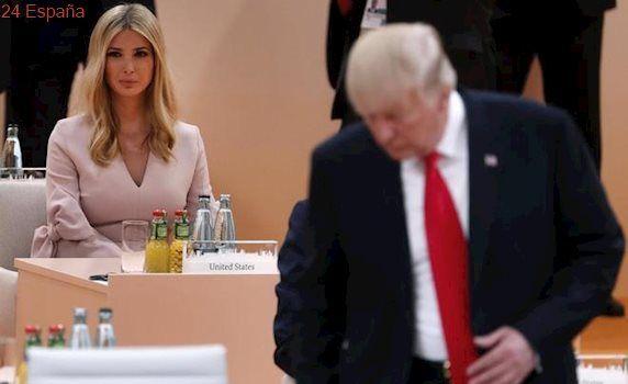 Ivanka Trump sustituye a su padre en la mesa de negociaciones de la cumbre del G-20