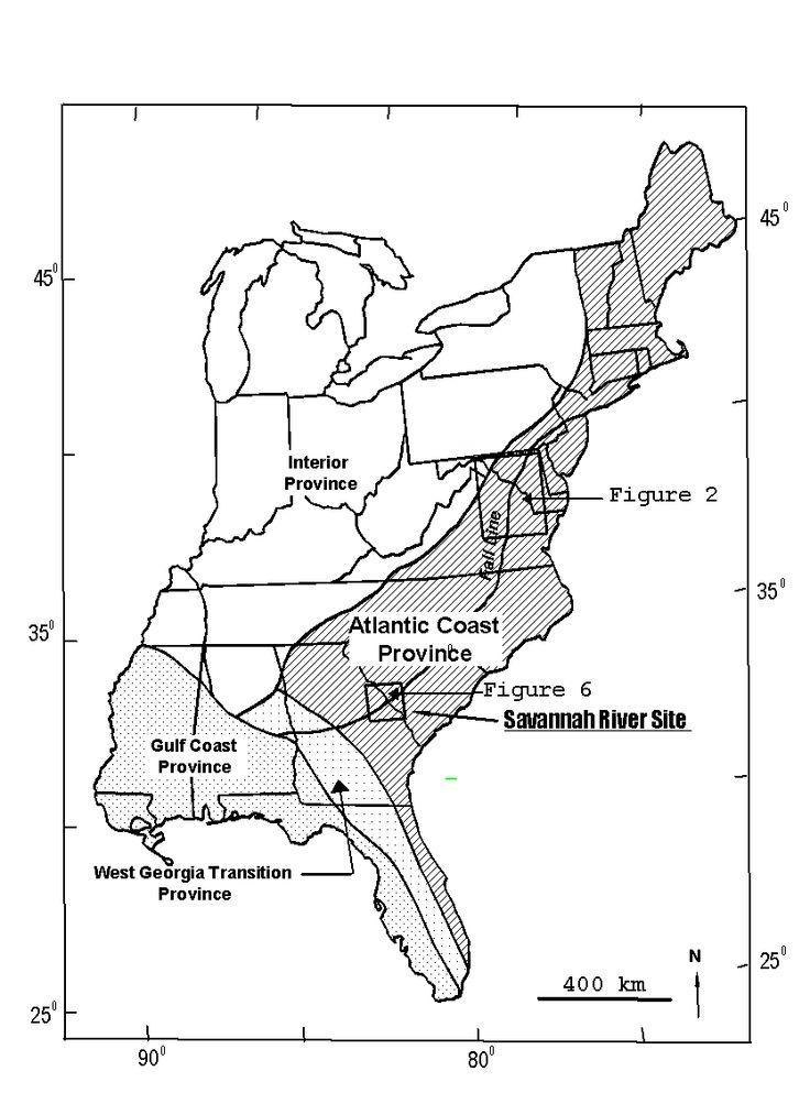 United States Fault Lines Maps Fault Characteristics Of The - Us east coast fault lines map