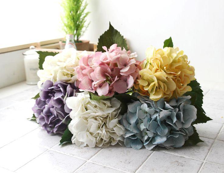 [바보사랑] 조화로 집안 분위기 바꿔보세요 /인테리어/수국/꽃장식/조화/Interior/Hydrangea/Flower decoration/artificial flower