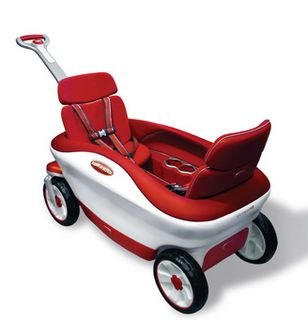 luxury kids wagon...perfect for Elena and Sarah!