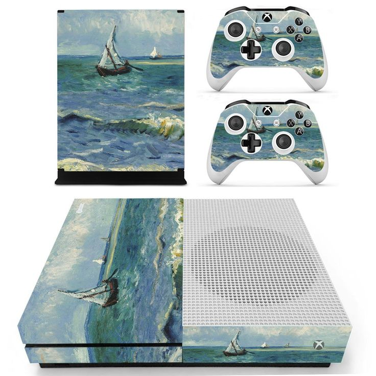 Saintes maries de la mer skin decal for xbox one S console and 2 controllers