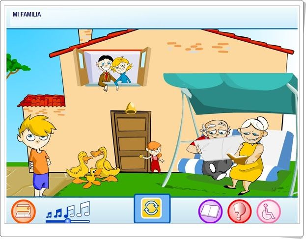 """""""Mi familia"""" (Medio Social de Educación Infantil)"""