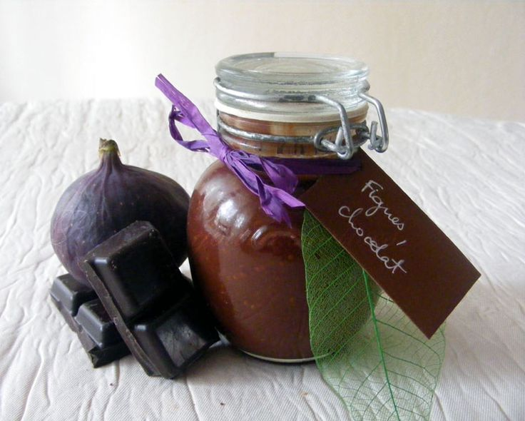 Confiture de figues au chocolat ou la tuerie de l'année !
