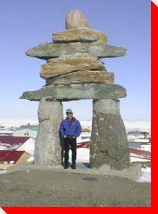 Inukshuk - Rankin Inlet, Nunavut