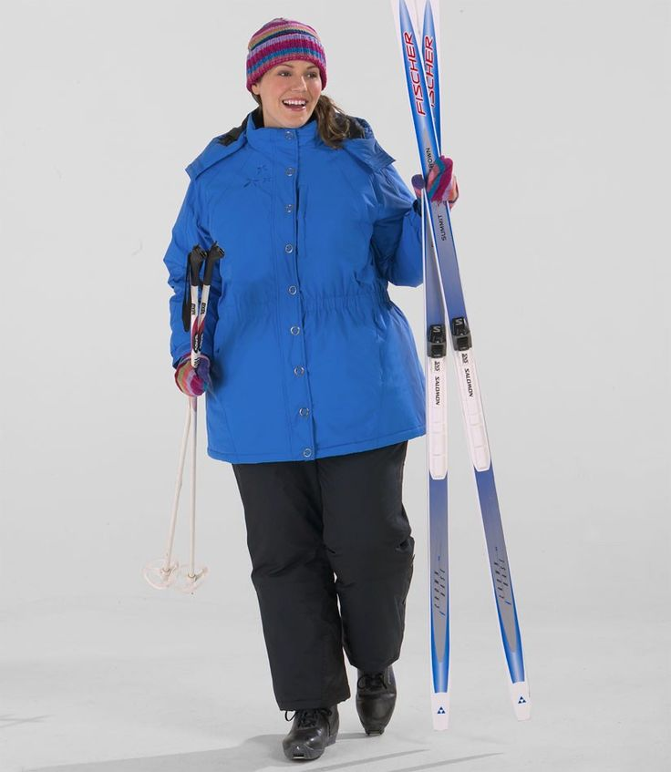 Plus Size Ski Jackets: Women's Snow Bunny Anorak Plus Size Ski Jacket - Junonia