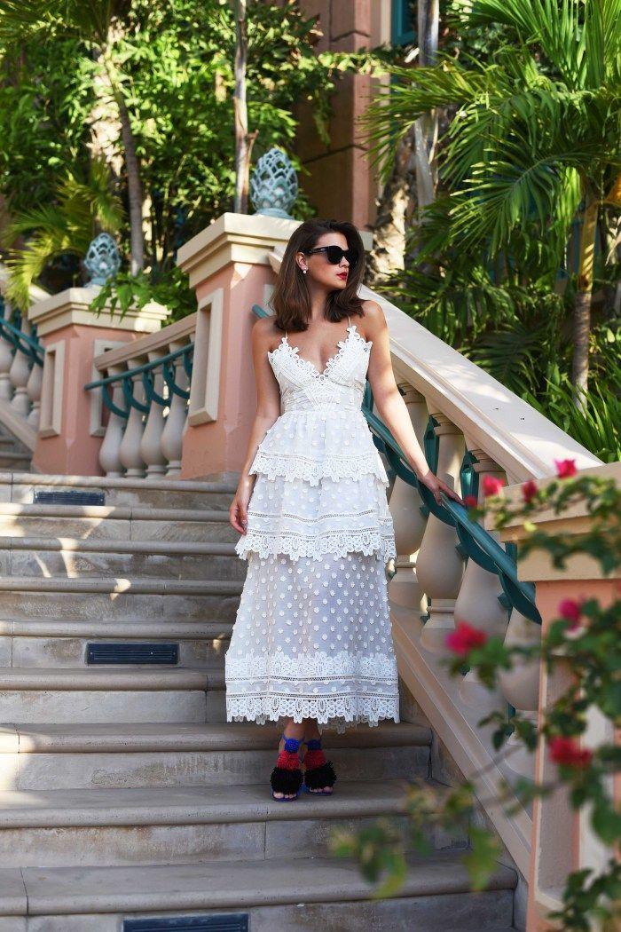 Self-Portrait dress and Malone Souliers heels