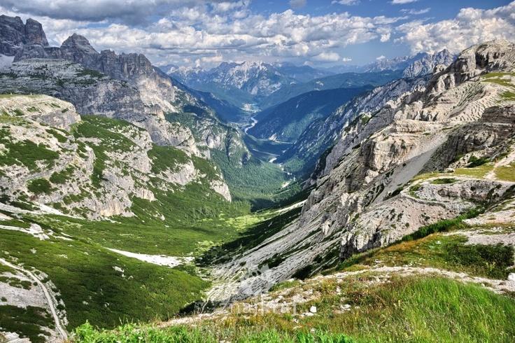 Vale di Sesto, Dolomites, Italy