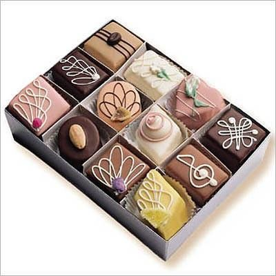 Original Petits Fours Assortment Box of 35 Full Size