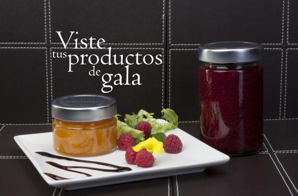 #Tarros de #vidrio Élite perfectos para el mercado delicatessen.