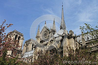 Нотр-Дам собора Европы Парижа
