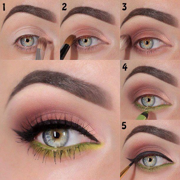 15 Tutoriales Paso A Paso Para Dominar La Sombra De Ojos Como Experta Maquillaje De Ojos Fiesta Maquillaje De Ojos Maquillaje De Ojos Día