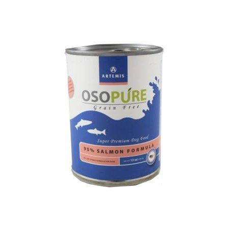 ARTEMIS PET FOOD COMPANY 011059 Osopure Grain Free Canned 95% Salmon Dog Food, 13 oz *** Check this awesome image