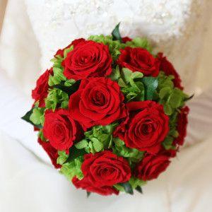 Red Round Bouquet A002
