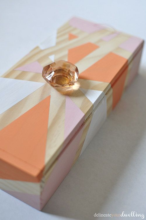 Geometric Thread Box, Delineate Your Dwelling