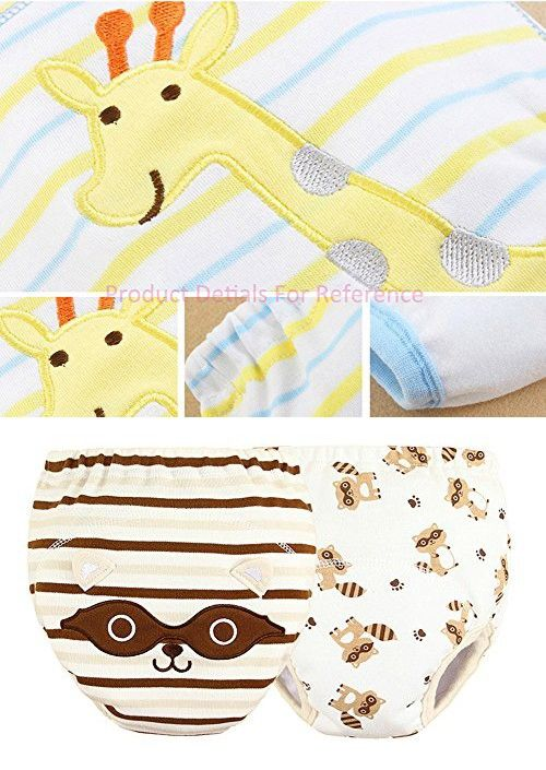 [Raccoon] Baby Toilet Training Pants Nappy Underwear Cloth Diaper 15.4-26.4Lbs