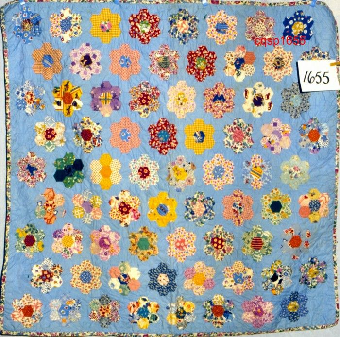 Grandmothers Flower Garden Quilt Yahoo Image Search